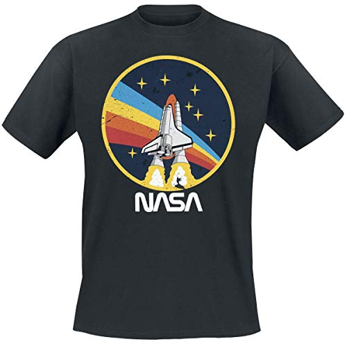 Nasa Rocket T-Shirt Noir M
