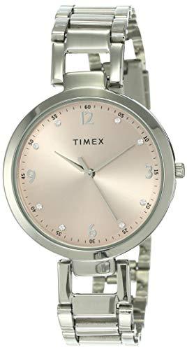 Timex Fashion Analog Pink Dial Women's Watch - TW000X201