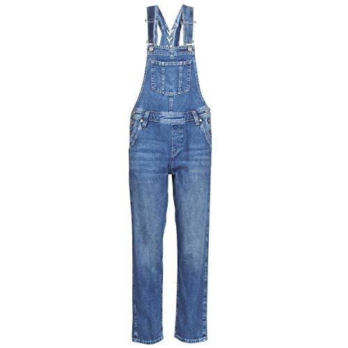 Pepe Jeans Samantha Overalls/Latzhosen Damen Blau - S - Overalls/Latzhosen