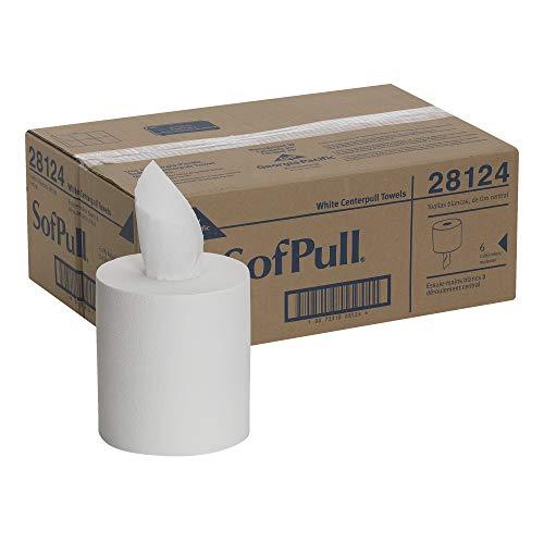 SofPull Centerpull Regular Capacity Paper Towel by GP PRO (Georgia-Pacific), White, 28124, 324...