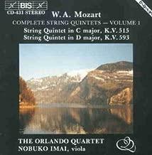 String Quintet 1 in C