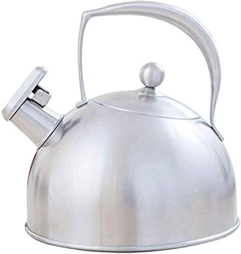 YONGYONGCHONG Hervidores de té de acero inoxidable para estufa de gran capacidad con cápsula Basehousewares Tea Pot 3L