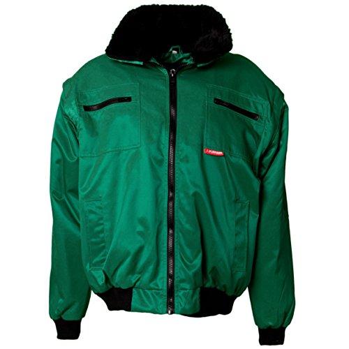 Planam Größe S Herren Outdoor Winter Gletscher Comfortjacke grün Modell 0361