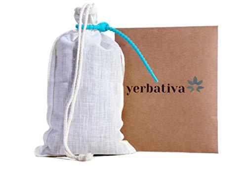 Cold Brew Coffee Bag 1 Pack | Hemp Nut Milk Bag Reusable | Coffee Sock, Cold Brew Filter Strainer Bag - Reusable Coffee Filter Fits 64 Oz. Mason Jar