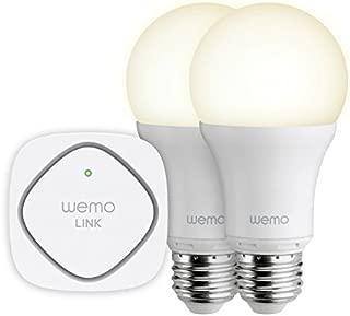 WeMo Smart LED Lighting Starter Set, Wi-Fi Enabled (Discontinued by Manufacturer)