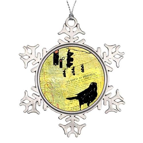 Cukudy zo luid als mogelijk pin sneeuwvlok Kerstmis kerstversiering sneeuwvlok ornamenten 2018 kerstboom opknoping cadeau