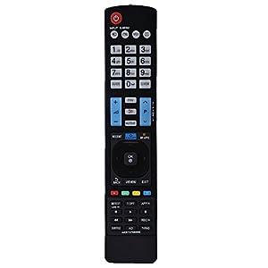 Reemplazo de Control Remoto de TV,Reemplazo Ideal de TV Mando a Distancia AKB73756565,Magic Control para LG Smart TV,transmisión de 10m,Rendimiento Estable, Negro