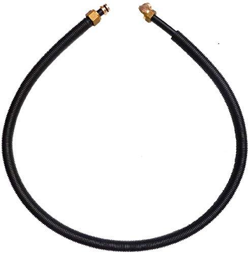 Viega 106010 Anschlussgarnitur Modell 6161.9 mit 1.5 m Sanfix-Rohr 1/2 Zoll x 16 mm