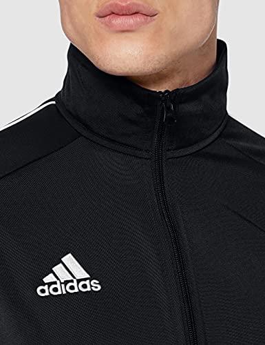 adidas Core18 PES Jkt Chaqueta, Hombre, Negro (Black/White), XL