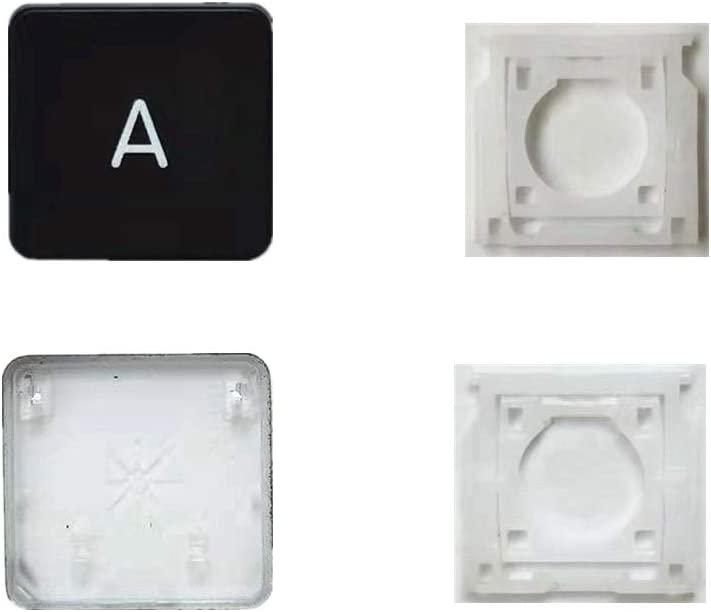 Replacement Individual AP08 Type A Key Cap and Hinges are Applicable for MacBook Pro Model A1425 A1502 A1398 for MacBook Air Model A1369/A1466 A1370/A1465 Keyboard to Replace The A Key Cap and Hinge