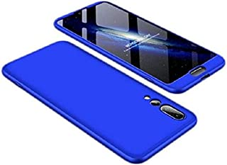 Cover Case For Huawei P20 Pro Gkk 360 3in1 Full Protection Cover Case - Blue