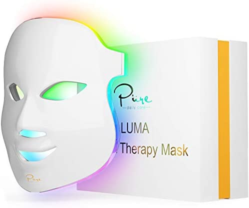 Luma LED Skin Therapy Mask Home Skin Rejuvenation Anti Aging Light Therapy 7 Color LED Facial product image