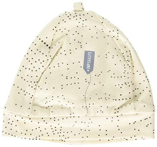 Imps & Elfs U Hat Bonnet, Écru (Antique White AOP Seeds P346), Unique (Taille Fabricant: Small) Mixte bébé