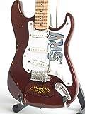 Stevie Ray Vaughan Mini guitarra miniatura SRV Lenny regalo Axe Heaven