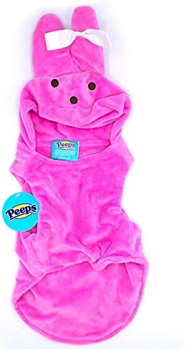 Peeps Easter Bunny Costume for Dogs Puppies Cats Medium product image