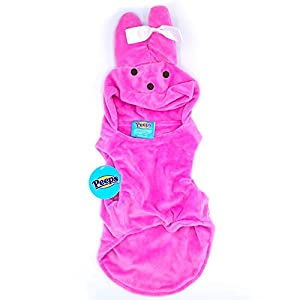 Peeps Easter Bunny Costume for Dogs, Puppies, & Cats, Small