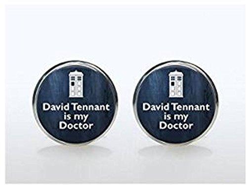Pendientes Doctor Who – Pendientes de cristal – David Tennant is My Doctor – Doctor Who