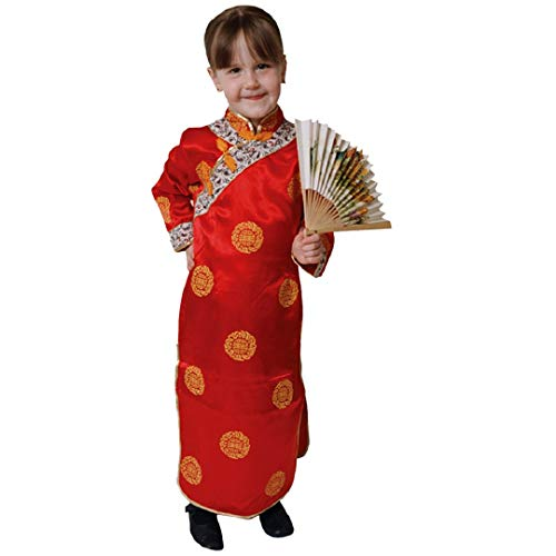 Dress Up America Ensemble de costume de luxe pour fille chinoise