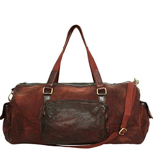 Craie _Histoire_Rusty_red - Bolso bandolera de piel auténtica, elegante, para oficina, bolso de hombro