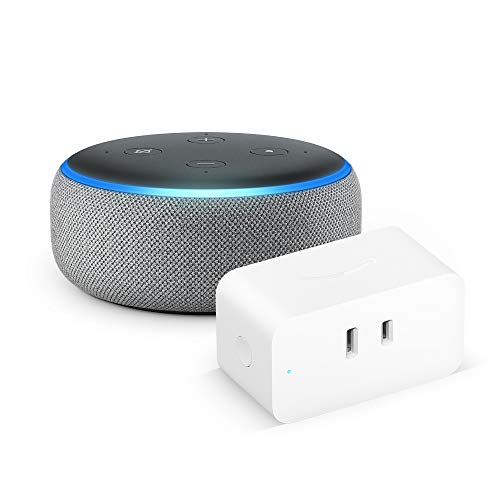【セット買い】Echo Dot 第3世代 ヘザーグレー + Amazon スマートプラグ
