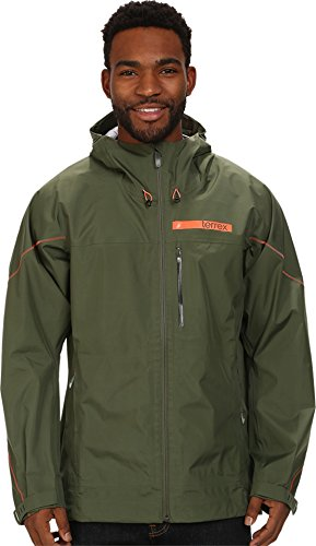adidas Outdoor Men's Terrex Gore-Tex Active Shell 3 Jacket, Base Green, XX-Large
