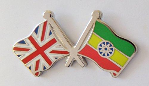 1000 drapeaux éthiopie et drapeau du Royaume-Uni