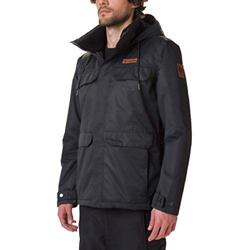Columbia South Canyon Lined Herrenjacke, Schwarz, L