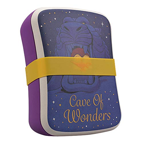 Genuine Disney Aladdin Cave Of Wonders Bamboo Lunch Box Eco Storage Food Container