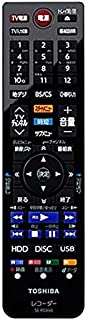 東芝REGZAブルーレイディスクレコーダー用リモコンSE-R0466(東芝部品コード:79106738)