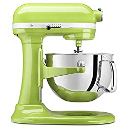 "KitchenAid KP26M1XGA 6 Qt. Professional 600 Series Bowl-Lift Stand Mixer - Green Apple. <a href=""https://www.amazon.com/gp/product/B008AYSADC/ref=as_li_tl?ie=UTF8&amp;camp=1789&amp;creative=9325&amp;creativeASIN=B008AYSADC&amp;linkCode=as2&amp;tag=ris15-20&amp;linkId=79c75cbe793ec7e39b90cc9280c1cfac"" target=""_blank"" rel=""nofollow noopener""><span style=""text-decoration: underline; color: #0000ff;""><strong>Buy it today on Amazon.</strong></span></a>"