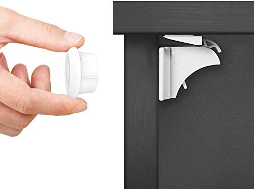 Baby Proofing Magnetic Cabinet Locks Child Safety Norjews 3 Keys 20 Locks Childproof Cupboard product image