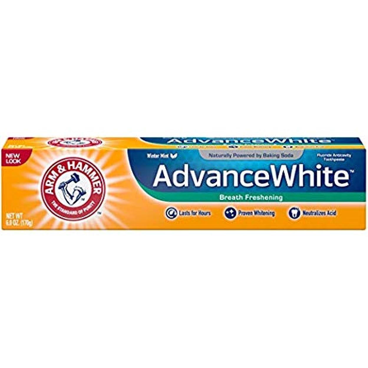 荒廃するメンテナンスレトルトArm & Hammer アドバンスホワイト重曹歯磨き粉、フロストミント6オズ(4パック) 4パック