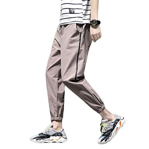 Pantalones Deportivos cónicos para Hombre Pantalones Deportivos - Pantalones Casuales a Rayas Pantalones Deportivos para Correr con Cintura elástica 4XL