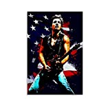 BAOKUAN Bruce Springsteen Poster, dekoratives Gemälde,