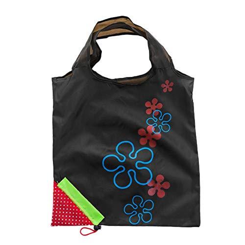 Bolso de compras plegable de poliéster con diseño de fresa linda Bolsa...