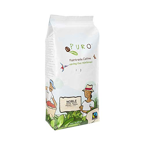 Puro NOBLE fairtrade Creme Café - 1KG ganze Bohne