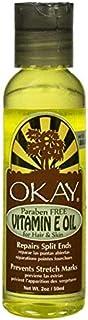 Okay Vitamin E Oil for Hair - Skin, 2 oz