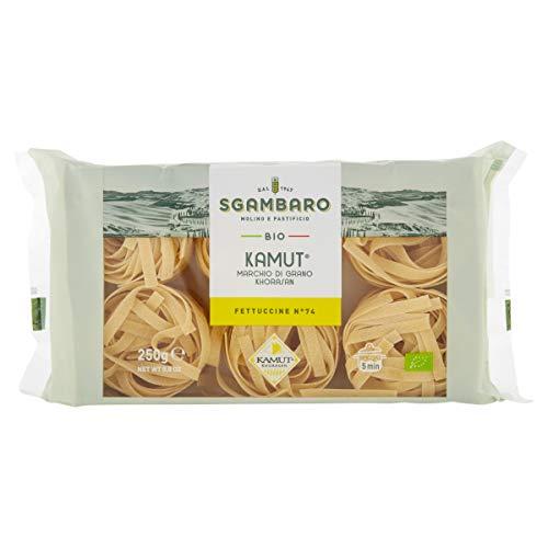 Sgambaro Pasta - Fettuccine Kamut Bio, 250 Grammi