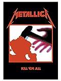 Metallica Póster Bandera Kill em All