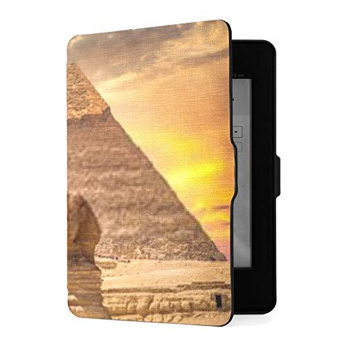 Kindle Paperwhite 1 2 3 Hülle, Great Sphinx Pyramid Under Bright Sun Pu Ledertasche...