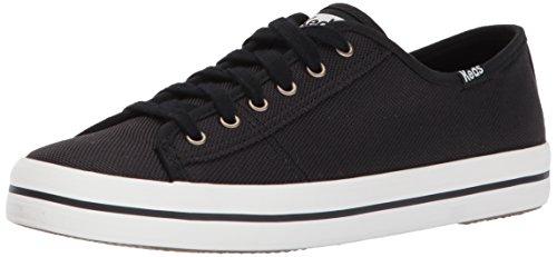 Keds Damen Kickstart Shine Nylon Fashion Sneaker, Schwarz (schwarz), 40 EU