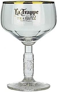 la trappe beer glass