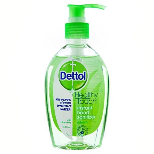 Dettol Instant Liquid Hand Sanitizer Refresh Anti-Bacterial 200ml