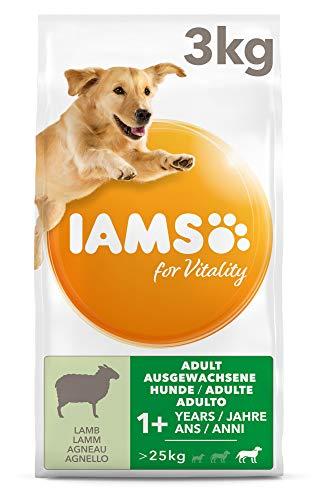 IAMS for Vitality hondenvoer droog voor grote rassen, verschillende soorten, volwassenen, 3kg