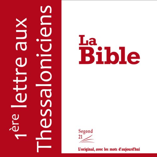 Couverture de Première lettre aux Thessaloniciens - version Segond 21
