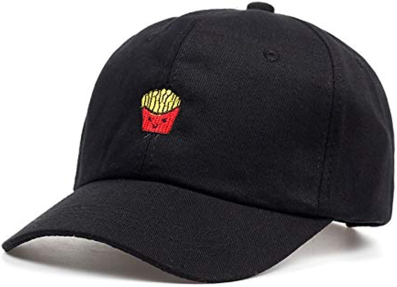 WLEZY Baseball Cap New Fries Embroidery dad hat Women Men Hip Hop Snapback Baseball Cap Trucker Hat Summer Cap