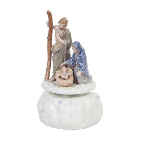 Image of Nativity Christmas Music Box