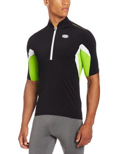 Sugoi - Maillot de Ciclismo para Hombre, tamaño XL, Color Negro/Lotus