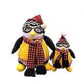 Entplg Dibujos Animados Antiguo Amigo Rejochemical Toy Penguin Llenado Los Juguetes de Animales Pueden Tomar 46 cm