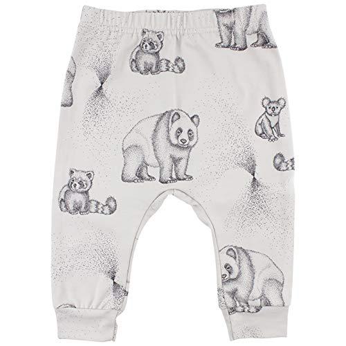 Fixoni Unisex Baby Elemental Pants-GOTS Pullover, Grau (Moonstruck 00-05), 86